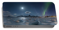 Ice And Northern Lights II Portable Battery Charger