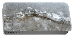 Ice And The Beach Four  Portable Battery Charger by Lyle Crump