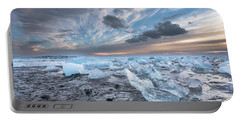 Ice Chunks Sunset 2 Portable Battery Charger