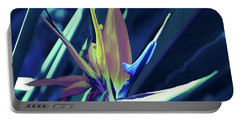 Portable Battery Charger featuring the photograph Ice Cold Bird Of Paradise by Aimee L Maher Photography and Art Visit ALMGallerydotcom
