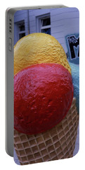 Ice Cream Cone Portable Battery Charger
