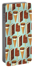 Ice Cream Novelties Pattern Portable Battery Charger