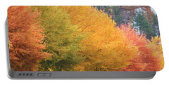 October Trees Portable Battery Charger