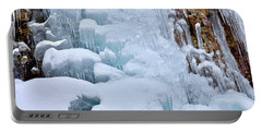 Ice Mosaic Portable Battery Charger