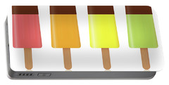 Ice Pops Chocolate Fruit Flavor Portable Battery Charger