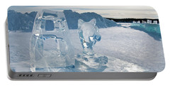 Ice Sculpture Portable Battery Charger
