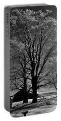 Portable Battery Charger featuring the photograph Ice Tree by Diane E Berry