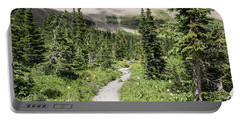Iceberg Lake Trail Forest Portable Battery Charger