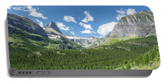 Iceberg Lake Trail Mountain Valley - Glacier National Park Portable Battery Charger