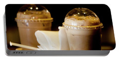 Iced Caramel Coffee Portable Battery Charger