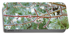 Iced Maple Branches Portable Battery Charger