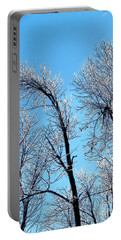 Iced Trees Portable Battery Charger
