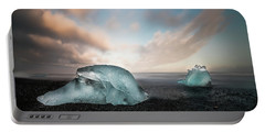 Iceland Glacial Ice Portable Battery Charger