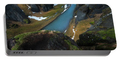 Iceland Gorge Portable Battery Charger