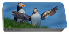 Iceland Puffin Paradise Portable Battery Charger