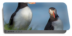 Iceland Puffins  Portable Battery Charger