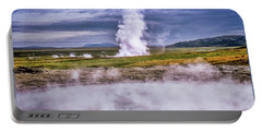 Icelandic Hydrothermal Activity Portable Battery Charger