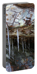 Portable Battery Charger featuring the photograph Icicle Art by Doris Potter