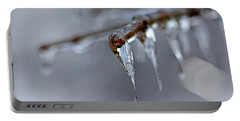 Icicle Teardrop Portable Battery Charger