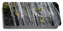 Portable Battery Charger featuring the photograph Icicles by Sharon Talson