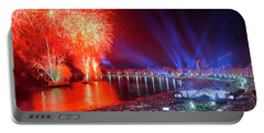 Iconic And Breath-taking Fireworks Display On Copacabana Beach,  Portable Battery Charger