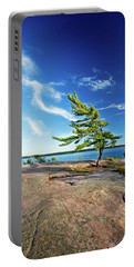 Iconic Windswept Pine Portable Battery Charger