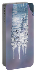 Portable Battery Charger featuring the photograph Icy Beauty by Ari Salmela