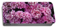 Icy Flowers Portable Battery Charger