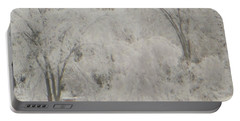 Icy Trees Portable Battery Charger