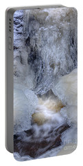 Icy Waterfall Portable Battery Charger