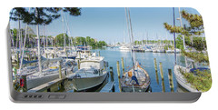 Idle Boats Back Creek Annapolis Portable Battery Charger