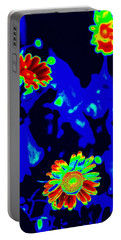 If Love Was A Flower Portable Battery Charger