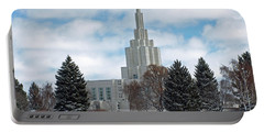 If Temple After Snow Portable Battery Charger