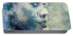 Portable Battery Charger featuring the digital art If You Leave Me Now  by Paul Lovering