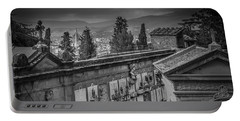 Portable Battery Charger featuring the photograph Il Cimitero E Il Duomo by Sonny Marcyan