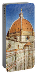 Portable Battery Charger featuring the photograph Il Duomo Florence Italy by Joan Carroll
