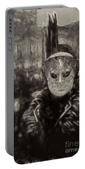 Portable Battery Charger featuring the digital art Il Gottico by Jack Torcello
