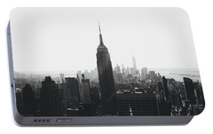 I'll Take Manhattan  Portable Battery Charger by J Montrice