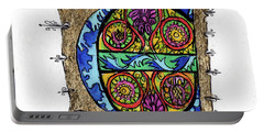 Illuminated Letter E Portable Battery Charger