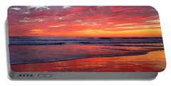 Portable Battery Charger featuring the photograph North County Waves by John F Tsumas