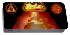 Illuminati World By Pierre Blanchard Portable Battery Charger