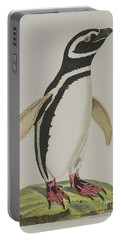 Illustration Of A Penguin Portable Battery Charger
