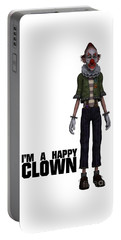 I'm A Happy Clown Portable Battery Charger