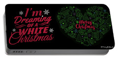 I'm Dreaming Of A White Christmas Portable Battery Charger