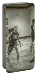 Portable Battery Charger featuring the photograph I'm Going By You by Ronald Santini