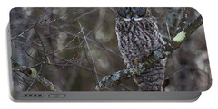I'm Hungry- Great Gray Owl Portable Battery Charger