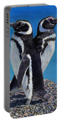 I'm Not Talking To You - Penguins Portable Battery Charger