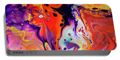 Imagination - Colorful Abstract Art Painting Portable Battery Charger