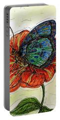 Imagine Butterflies A Portable Battery Charger