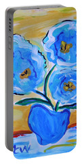 Imagine In Blue Portable Battery Charger